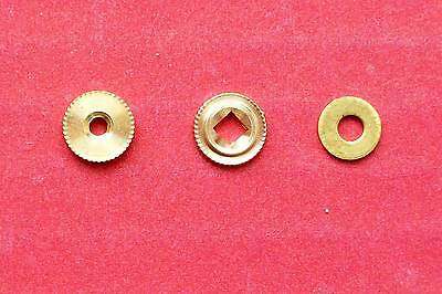 Regula,  hand nut, minute hand bush &  washer,  3 pieces only.