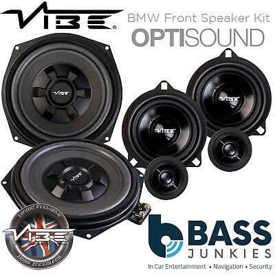 "Vibe BMW 1 Series F20/21 8"" Underseat Car Subs & Front Door Speaker Upgrade Kit"