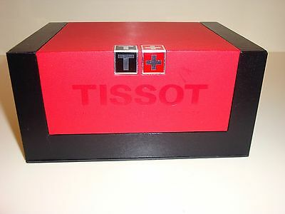 Tissot Luxury Watch Box With Travel Pouch And Instructions/warranty Book