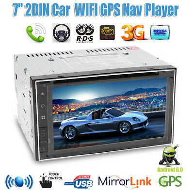 """7"""" Capacitive Touch Screen Car Bluetooth GPS Navigator Dual Core Android Player"""