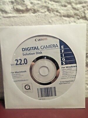 Canon Digital Camera Solution Disk Ver 20.0 Eos Photo Studio Stitch Quicktime