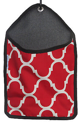 Laundry Clothes Peg Bag - RED - UV and Weather Resistant