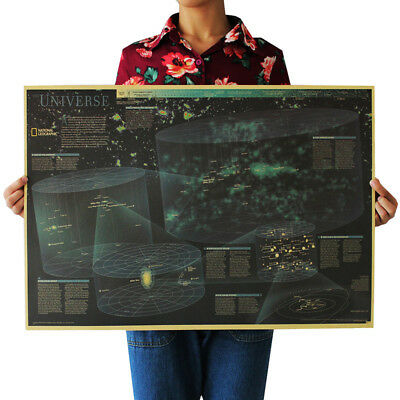 US Seller- Harry Potter Magic World Map kraft paper retro poster country home