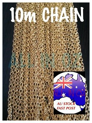 BULK BUY Gold Link Chain Jewellery Making Necklaces Bracelets Anklet 46