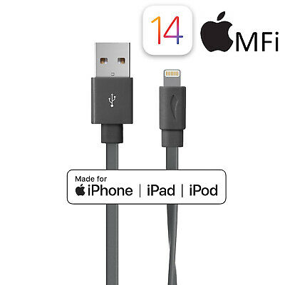 Apple 8Pin USB Lightning Charging & Data Sync Cable for iPhone 6S SE iPad Pro
