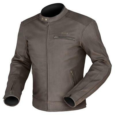 Dririder PHOENIX Leather Motorcycle jacket Brown ALL SIZES