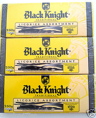 Black Knight Traditional Licorice Assortment - 3 Boxes