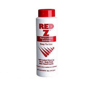 Red Z Blood-Body Fluid Control Solidifier 5 oz - MS89285