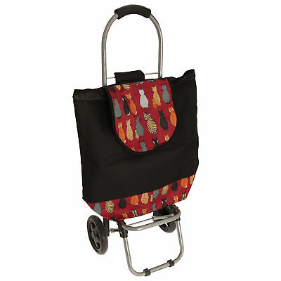 Cat Print Shopping Trolley (BAG240)
