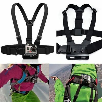 GoPro 1/2/3 SJCAM Chest Mount Camera Body Harness Pro Adjustable Belt Strap