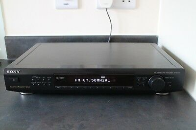 Sony | 1998 | St-Se520 | Fm Am Stereo Tuner Advanced Reception Circuits Rds