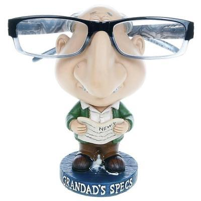 Novelty Comic Specs Holder Grandads Reading Glasses Sunglasses Spectacles Stand