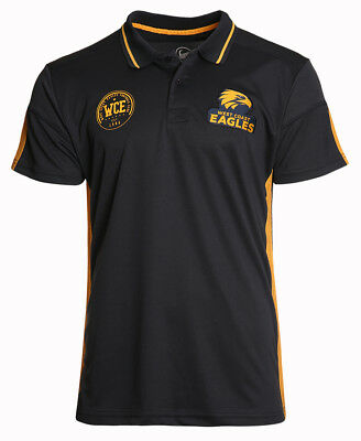 West Coast Eagles 2018 AFL Premium Polo Shirt Sizes S-3XL BNWT