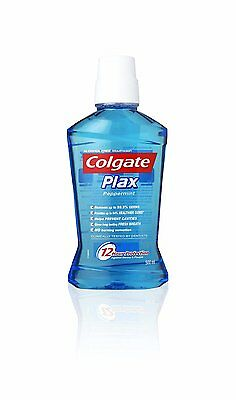 Colgate Plax Peppermint Mouthwash - 500 ml Long Lasting Fresh Breath