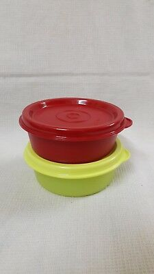 Tupperware Small Round Wonder Round Container 70 ML- Set of two - NEW!