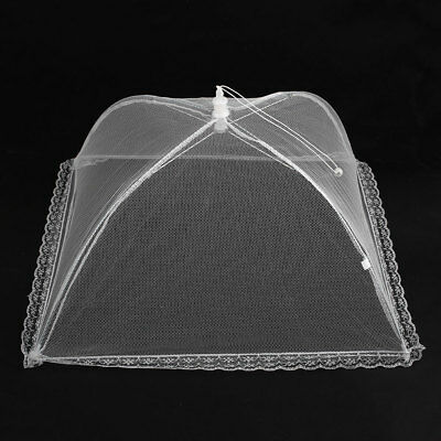 2X Collapsible Food Cover Pop Up Mesh Fly Wasp Net Party Kitchen Food Cover BBQ