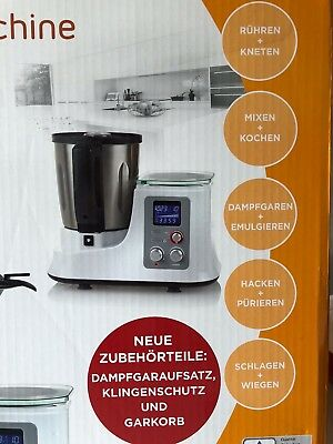 aldi k chenmaschine quigg gourmet km garantie 11 18 ovp kein thermomix eur 53 80. Black Bedroom Furniture Sets. Home Design Ideas