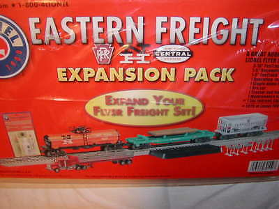 Lionel 6-30112 Eastern Freight Expansion Pack Set MIB O-27 New PRR NYC NH Sealed