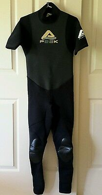 "Mens PEAK Flex 2 X 2 Wet Wetsuit . Size S . Suit Chest 35 38"" . BERWICK vIC"