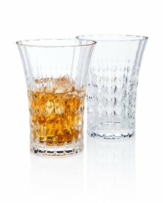 "Kingsley Amis ""Art of Drinking"" Highball Glass Gift Box Set of 2"