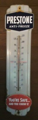 Vintage Prestone Anti-Freeze Thermometer in Good Condition