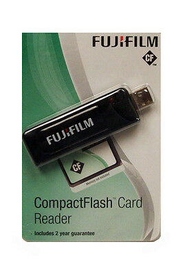 Fujifilm Compact Flash Reader - transfer your files between Card and PC