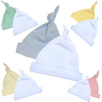 BabyPrem Premature Baby Clothes Slight Seconds Imperfects 2 x Hats 1.5 - 7.5lb
