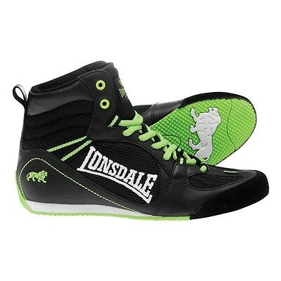 Lonsdale Typhoon Low Boxing Boots Size 8