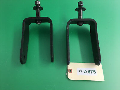 Rear Caster Forks for Quantum 1450  Power Wheelchair #A675