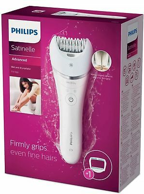 Philips Satinelle Advanced Wet & Dry Epilator Legs Body (BRE610) NEW AND SEALED