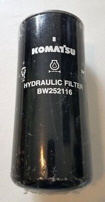 BW252116 KOMATSU Hydraulic Filter Transmission Spin-on, Stud Thread M24X15 NEW