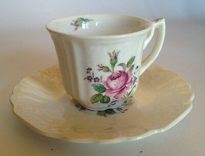 Royal Crown Myotts Staffordshire England Tea Cup And Saucer. Lovely