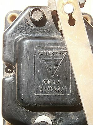 Junkers Germany Airplane ? Wwii  ? Part Electrical Mz/sa 3/1  2Wk Aircraft