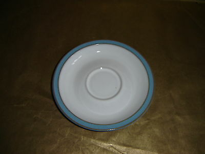 denby colonial blue spare / replacement saucer