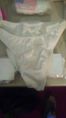 American Full Bikini Bottom # 3, By Chica Rica, With Tags. White Size Large