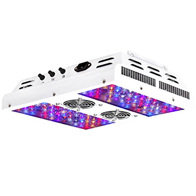 VIPARSPECTRA Dimmable Series PAR450 450W LED Grow Light 3 Dimmers 12-Band Full
