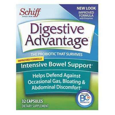 DIGESTIVE ADVANTAGE 15066-00116 Tablet,Bowel Support,32 Capsules