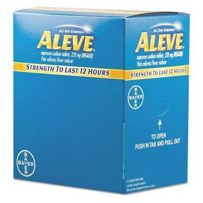 ALEVE 82909533 Pain Reliever Tablets,PK50
