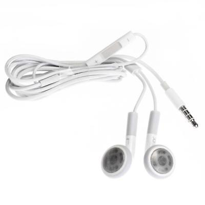 Earphone Earbud Headset W/ Mic for iPhone iPod iPad Samsung Smart Phone