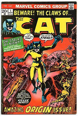 The Cat 1 First Appearance of Tigra! Hellcat Patsy Walker Marvel 1972 Defenders