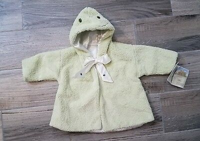 Bunnies By The Bay~Plush~Frog~Tadbit Coat Size 0-6 Months New