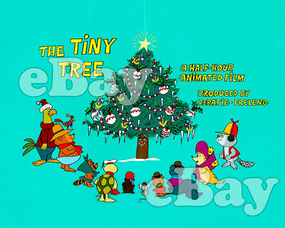 Rare! THE TINY TREE Cartoon Color TV Photo DePATIE FRELENG Christmas Special