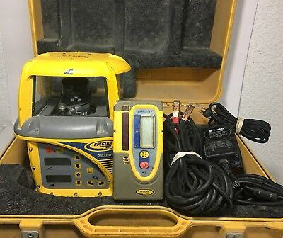 Trimble Spectra Laser GL720 Dual Grade Laser w/HR550 Receiver WORKS GREAT