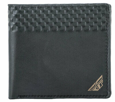 Fly Racing MX Motocross MTB BMX 2018 Leather Wallet (Black) One Size