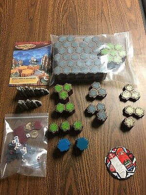 Heroscape Rise of the Valkyrie Master Set - No box 2nd edition 98% complete