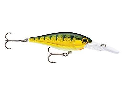 """Storm Smash Shad - 2.5"""" -  Yellow Perch, Bass Trout Yellow Belly Flathead Lure"""