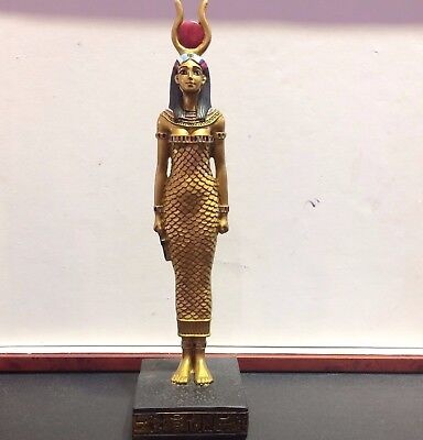 """8"""" ISIS Ancient Goddess Egyptian Statue Collectible Egypt Sculpture Figure Decor"""
