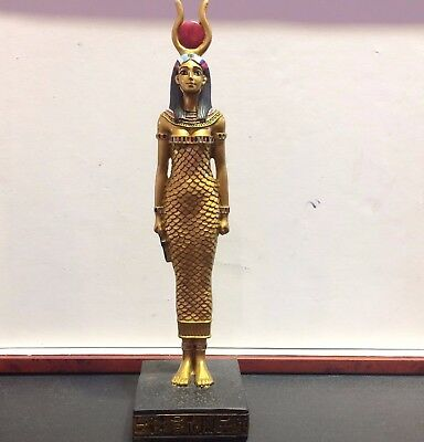 "8"" ISIS Goddess Egyptian Statue Collectible Ancient Egypt Sculpture Figure Decor"