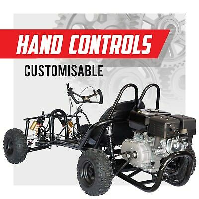 HAR270K ✸ Unrestricted race kart ✸ Off road buggy 270cc ✸ Adults Kids size Ride