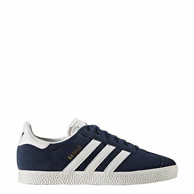 BY9144, adidas Shoes – Gazelle J blue/white/white, Kids, 2017, Suede